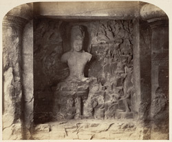 Elephanta - Shiva as Mahayogi [or Lakulisha?]